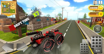 Cartoon hot racer Apk Free Unlimited Golds/Coins