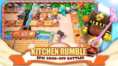 Cooking Battle! Apk+Data Free Unlimited Golds/Coins