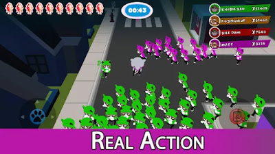 Crowd cat battle Apk Free Unlimited Golds/Coins on Android
