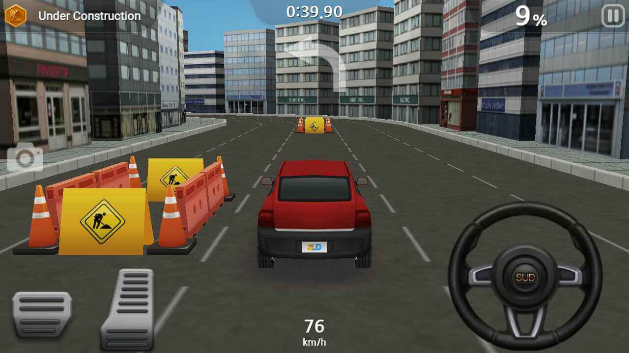 dr driving gameplay difficult