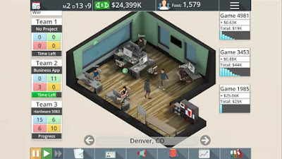 Game Studio Tycoon 3 Apk Mod Unlimited Golds/Coins Free on Android