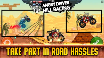 Hill Racing Attack Apk Free Unlimited Golds/Coins on Android Game