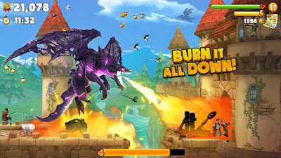 Hungry Dragon Apk Unlimited Golds/Coins Mod Free