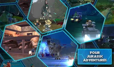 LEGO Jurassic World Apk+Data Unlimited Golds/Coins Free on Android