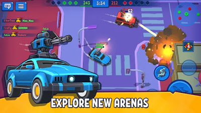 Rage of Car Force – Car Fighting Online Unlimited Golds/Coins Apk