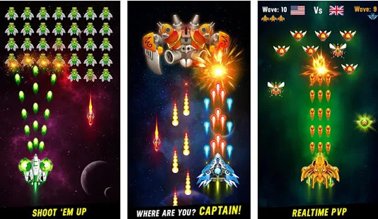 Space Shooter Galaxy Attack Mod Apk