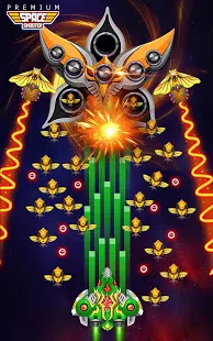 Space Shooter: Alien vs Galaxy Attack Apk Unlimited Golds/Coins Free on Android