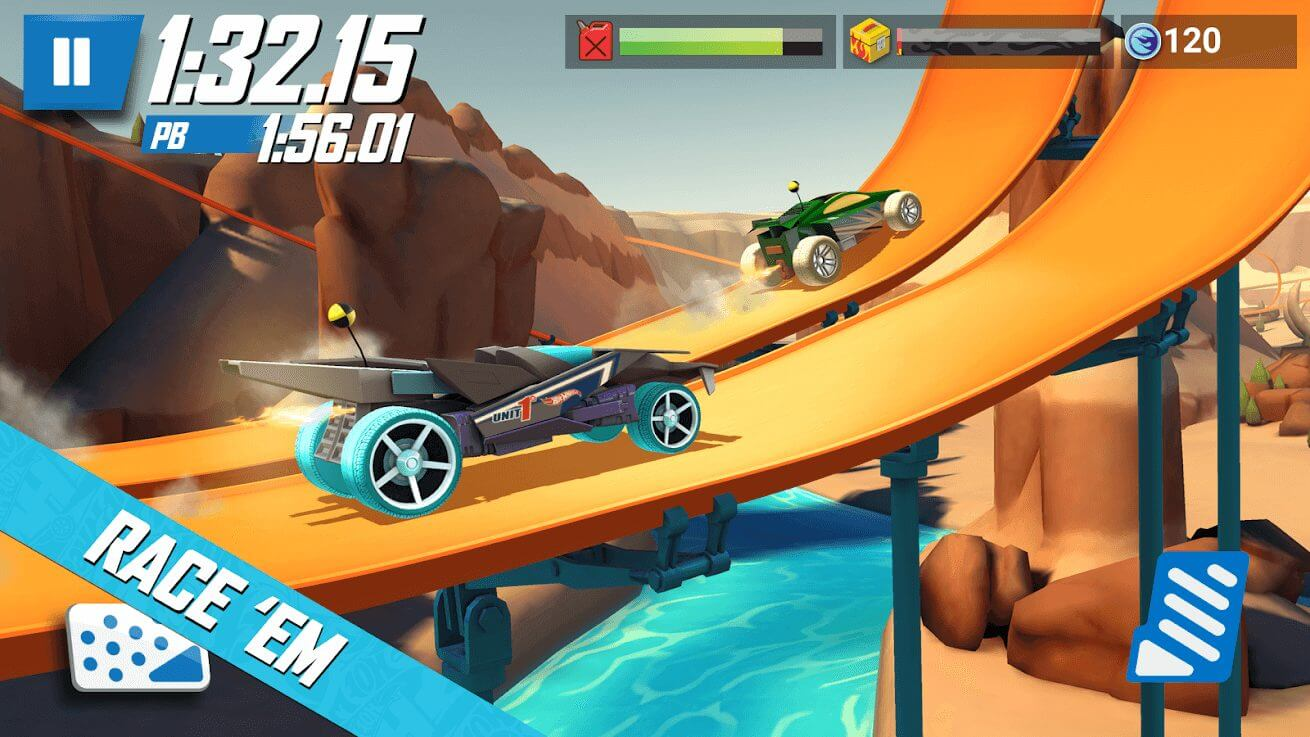 hot wheels: race off gameplay first