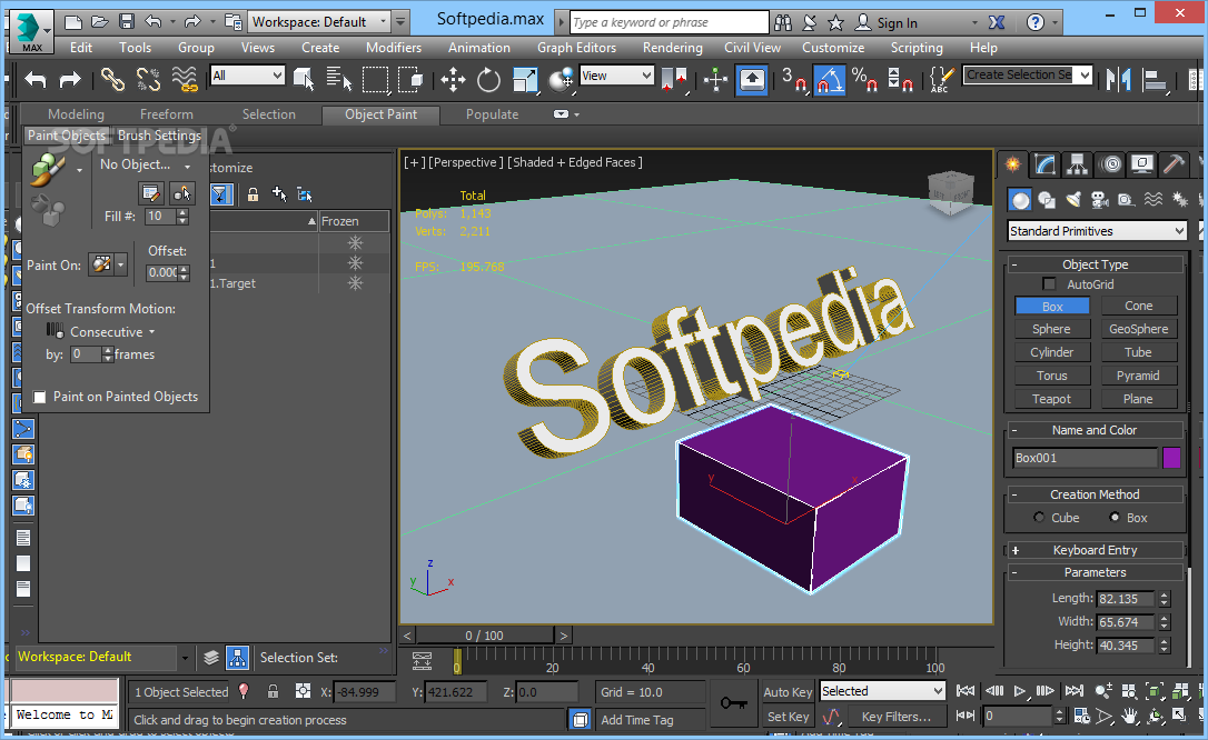 Autodesk 3ds Max cracked2