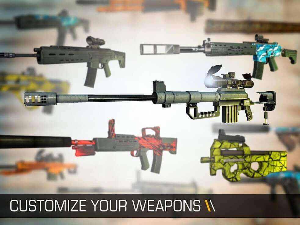 customize your weapons