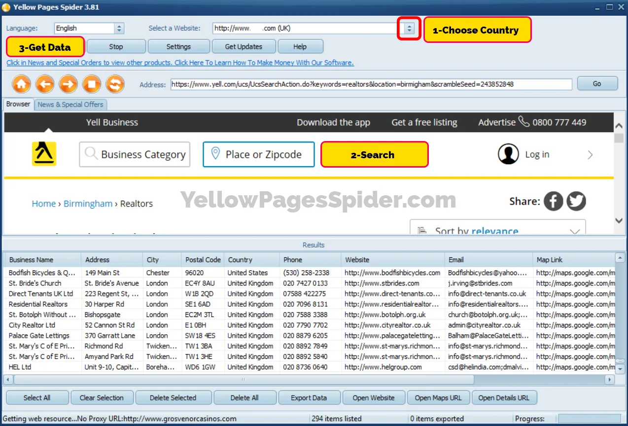 Yellow Pages Sniper 3.47 Cracked (FULL)