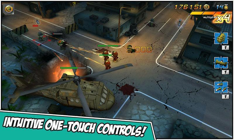 intuitive one-touch controls!