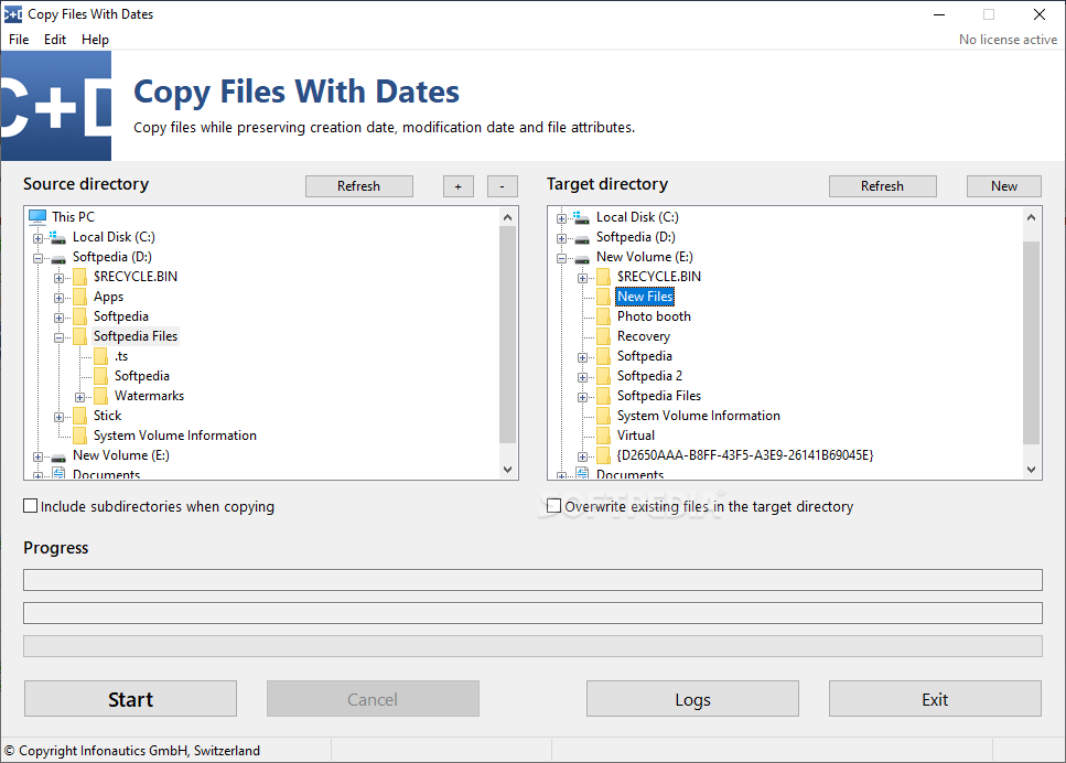 Copy Files With Dates cracked
