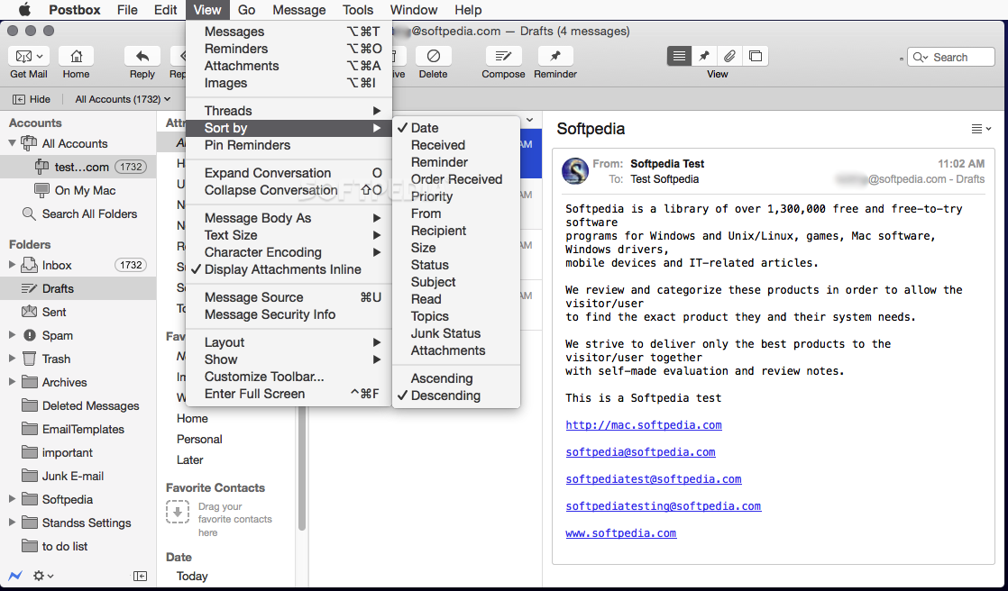 Postbox for Mac full free 2