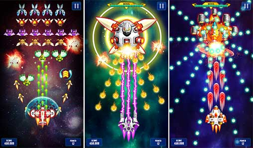 Space Shooter: Galaxy Attack 1.500 Apk + Mod (Money) for Android