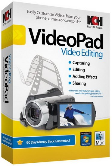 NCH VideoPad Pro Crack Download