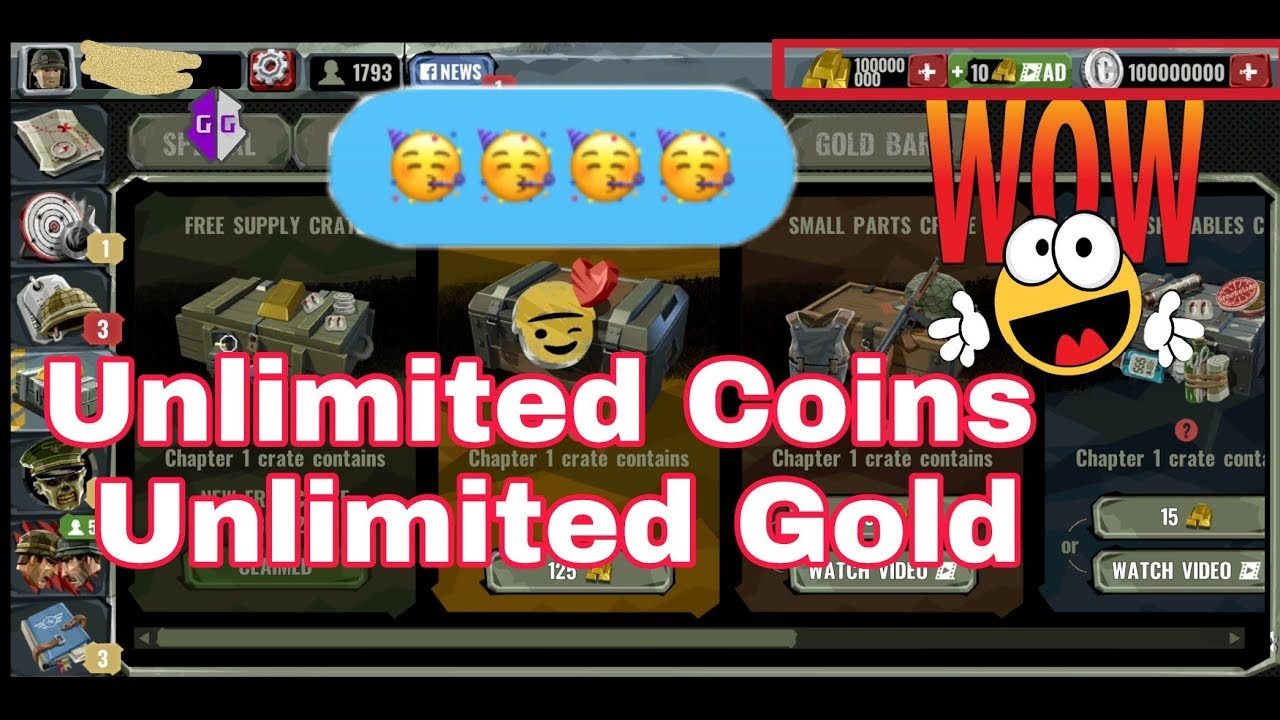 How to hack coins and gold in World War Polygon   Rooted   Unlimited Coins and Golds - YouTube